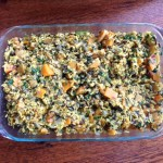 Healthy Butternut Squash Brown Rice Casserole