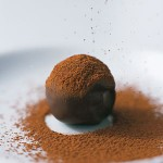 raw chocolate truffle