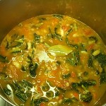 Red Lentil Kale Curry Veggie Soup