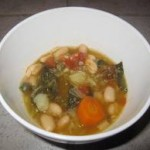 Hearty Vegetable Garbanzo Curry Soup