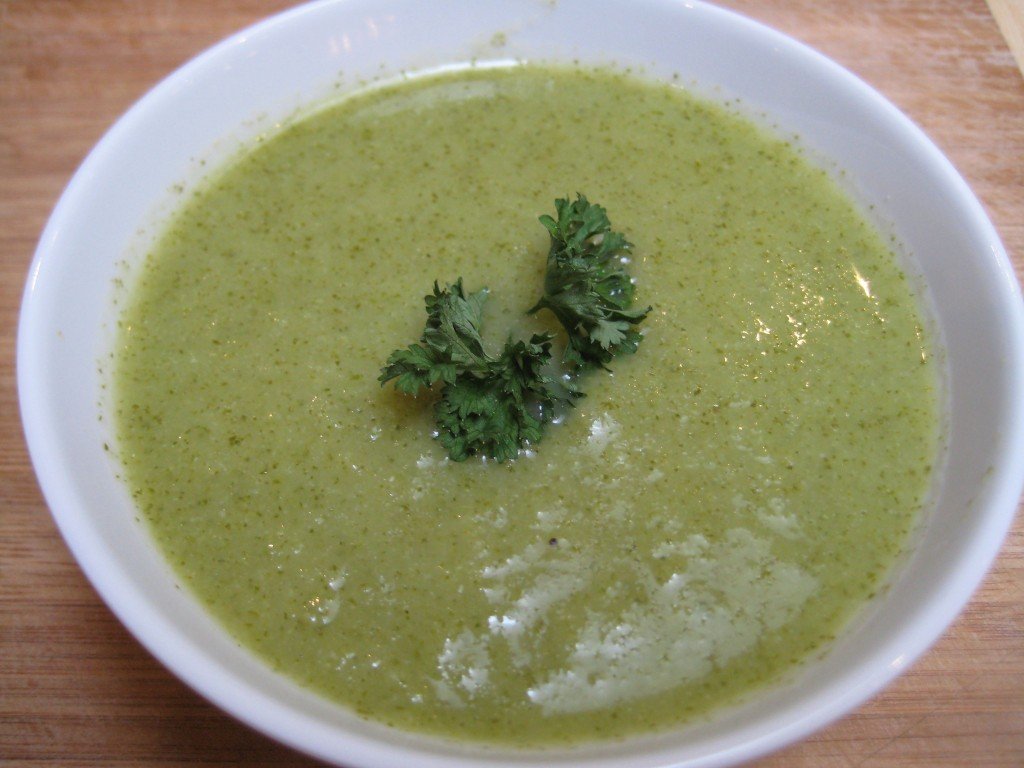 Creamy and Spicy Kale Soup