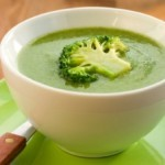 pea and avocado soup