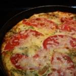 Vegan Tomato Frittata