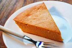 Crustless Vegan Pumpkin Pie
