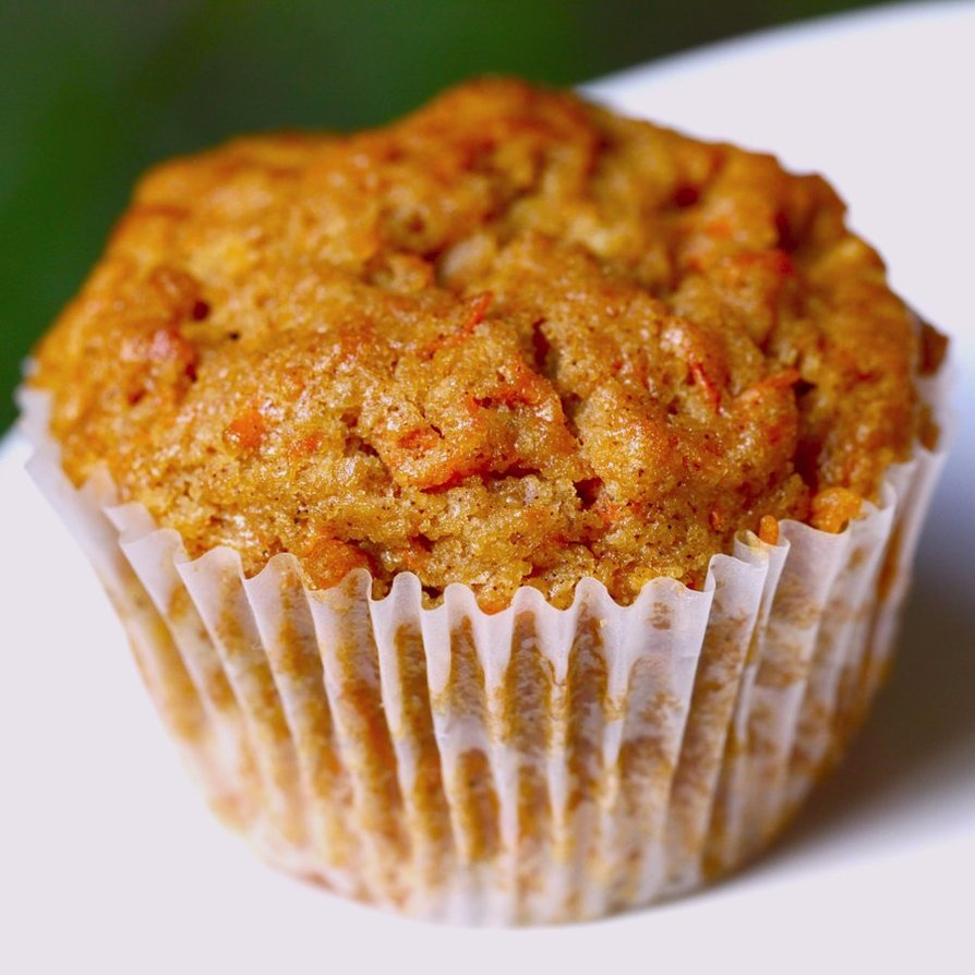 Healthy Carrot Cake Muffins Recipe