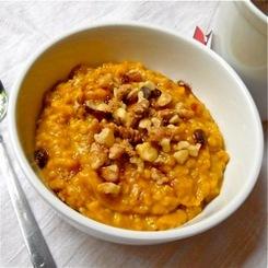 Festive Pumpkin Oatmeal