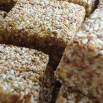 Simple Sesame Nut Raisin Bars