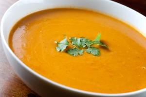 Carrot, Sweet Potato, Butternut Squash Soup