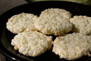 Raw Lemon Coconut Cookies