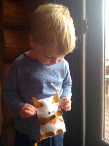 Simple Kid Craft Felt Animals