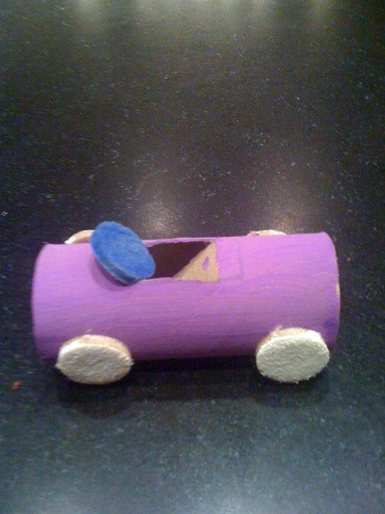Paper Tube Car