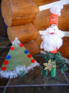 Paper Towel Roll Christmas Crafts