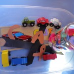 Cars Sensory Tub and Car Sensory Bottle