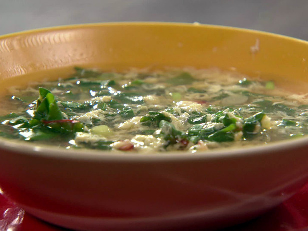 Lentils and Chard Soup