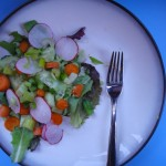 Healthy Spring Salad With Kale Dressing