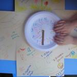 Our Daily Clock and homeschool calendar