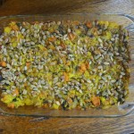 Baked Quinoa With Sweet Potatoes casserole