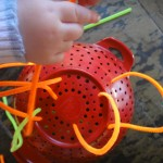 Colander and Pipe Cleaners
