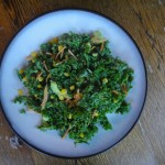 Kale and Creamy Corn Salad