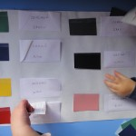 Learn Colors With Paint Chips