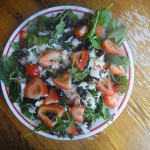 Savory Berry Salad With Tangy Orange Vinaigrette