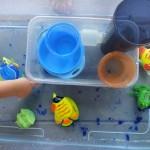 sensory water table