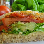 Juicy Veggie Sandwich