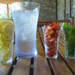 flavored water bar