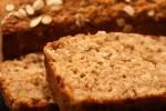Sweet Potato, Banana,Peanut Butter Oatmeal Breakfast Bread