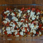 Pepper, Eggplant and Tomato Bake