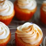 Sugar-Free Pumpkin Cupcakes With Creamy Pumpkin Frosting