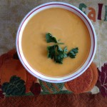 Vegan creamy butternut squash soup with 3 ingredients!