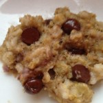 Chocolate Chip Oatmeal Cookie: 3 Ingredients