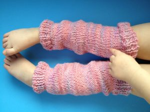Knitting Patterns For American Girl Dolls-Leg Warmers