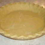 gluten free and vegan no-grain pie crust in ten minutes