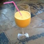 healthy and easy vegan pumpkin breakfast smoothie