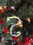 Pipe cleaner ornament even a toddler can make