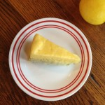 Raw Lemon Cheesecake, No Nuts