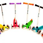 mini scooters in all colors