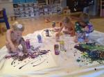learning jackson pollock art