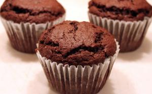 Flourless Chocolate Muffins