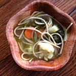 Healing Vegetable Pasta Soup (try instead of chicken soup)