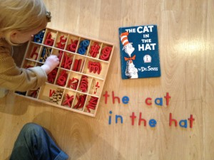Learn to Spell with Moveable Alphabet