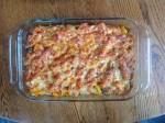 bell pepper and pasta casserole, gluten-free