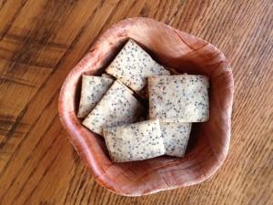 chia crackers, gluten-free