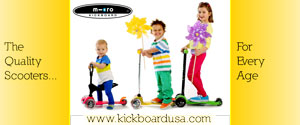Kickboard Scooters: The quality scooters for every age