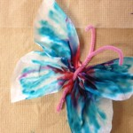 Butterfly Craft, Using A Coffee Filter