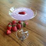 Healthy Vegan Strawberry Milkshake