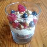 Vegan Raw and Healthy Breakfast Parfait