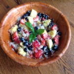 Quinoa and Berries Fruit Salad